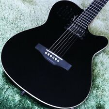 Godin A6 Ultra _Black JAPAN beautiful rare EMS F/S