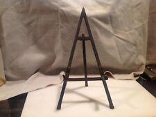 Vintage Metal Picture Frame Art / Plate Easel Holder Display Stand