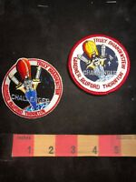 NASA PATCH ~ STS-8 SPACE SHUTTLE CHALLENGER LOT 2 PATCHES - Both Variations Inc.