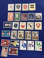 Liechtenstein Stamps, 26 Stamps, MNH, Price:  $8 US  (2309)