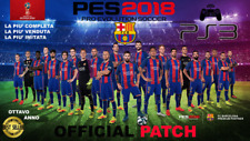 AGGIORNAMENTO PATCH Pro Evolution Soccer PES 2018 PS3 Option File STAGIONE 2019