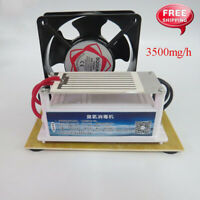 3500mg/h Ozone Generator Air Purifier Long Life Disinfection Deodorizer 220V New