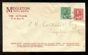 p124 - MIDDLETON NS 1932 Town Advertising Cover