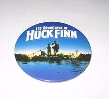 RARE 1993 THE ADVENTURES OF HUCK FINN MOVIE PROMO BUTTON - HUCKLEBERRY PIN
