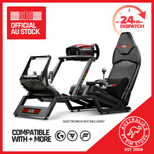 Next Level Racing F1GT Formula and GT Simulator Cockpit Gaming Chair - Matte Black