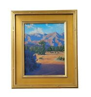 Matthew Reynolds Listed California Eucalyptus Mountain Landscape Oil Painting