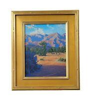 Matthew Reynolds Listed California Eucalyptus Mountain Landscape Oil Painting