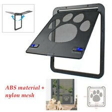 24x29CM Automatic Pet Screen Door ABS Mesh Gate Way Cat&Dog Close Anti-insect
