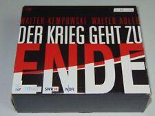 Walter Kempowski & Walter Adler - Der Krieg geht zu Ende - 7 CD-Box