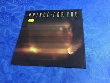 PRINCE (VINYL LP) FOR YOU [1984 GERMAN REISSUE WARNER ´FUNK R&B´ +OIS INSERT]NM