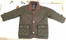 Pristine £135 Authentic Polo Ralph Lauren quilted jacket coat boys 2-3y