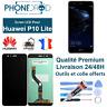 Écran complet LCD + vitre tactile Huawei P10 Lite Black + Outils, stock FR