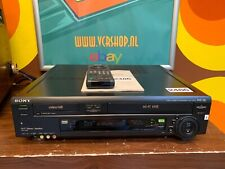 Sony SLV-T2000 VHS Hi8 Video8 Recorder + Manual & Remote Control