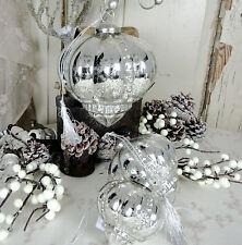Deko-Kerzenständer & -Teelichthalter im Shabby-Stil
