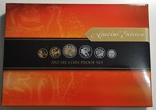 2012 Australia Proof Set - GEM FDC Coins - Full Mint Packaging - Special Edition