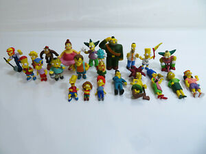 22 x The Simpsons Figures Bundle - TPF Collectable Rare - Bart - Krusty - Ralph