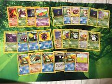 Pokemon Karten 1. Edition Team Rocket, Fossil Und Dschungel Common/uncommon