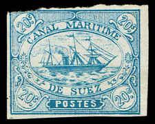 Scott # ZZZ_13 - 1868 - ' Ship '; Suez Canal Co;