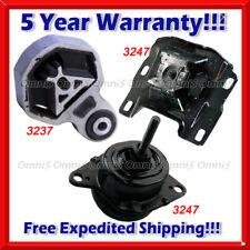 M588 For 2012-2015 Ford Explorer 2.0L Turbo, Motor & Trans Mount Set 3pcs