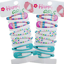 6 Pcs Cute Drip Hair Clips Kids Candy Color Hairpins For Baby Kids Girls Toddler
