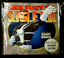 Nick Fury SHIELD Bust New Sealed Avengers Iron Man Bowen Designs Marvel Comics