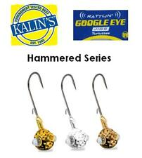 Acme Kalin's Rattlin' Google Eye Jig Hammered Series Gold (Select Size)