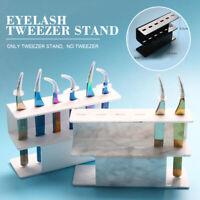 Acrylic Tweezer Display Stand Beauty Grafting Eyelash Tool Storage Holder Stand