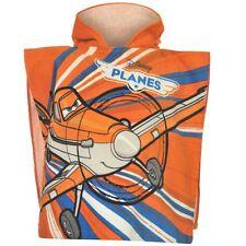 DISNEY poncho cape de bain à capuche PLANES 2-6 ans orange NEUF