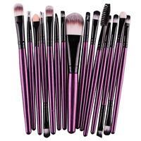 20Pcs Set Makeup Powder Foundation Eyeshadow Eyeliner Lip Cosmetic Brushes Hot