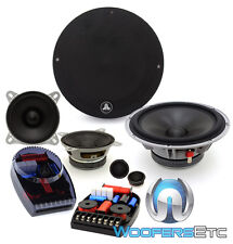 "JL AUDIO C5-653 EVOLUTION 6.5"" 3-WAY COMPONENT SPEAKERS MIDS CROSSOVERS TWEETERS"