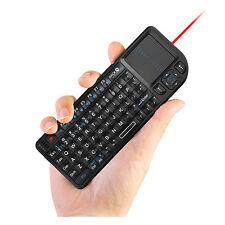 Rii k01v3 mini wireless keyboard with backlit laser pointer for smart TV PC