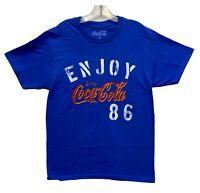 Size 3XLT New COCA-COLA Men/'s Black Short Sleeve Graphic T-Shirt Coke Classic