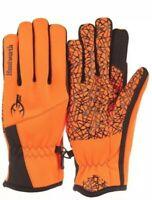 NEW Huntworth Gunner Blaze Orange Gloves Water Repellent Hunting Gear & apparel