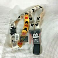 Disney Trading Pins Lanyard Mickey Mouse Reversible & 1 Vintage Rare 2000  Pin