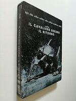 IL CAVALIERE OSCURO IL RITORNO BLURAY STEELBOOK RARO 2 DISCHI