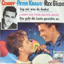 """7"""" 1960 RARE VG+ ! CONNY FROBOESS & PETER KRAUS : Sag mir was Du denkst"""