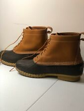 LL Bean Duck Boots, Made in the USA, Men's 13 M