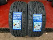 """225 45 17 LANDSAIL NEW TYRES WITH AMAZING """"B"""" RATINGS ON WET GRIP CHEAP !!!"""