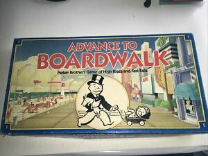 Advance to Boardwalk- 1985 Parker Bros Board Game- Preowned✅FastShip✅