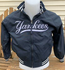 New York Yankees Baseball Jacket MAJESTIC Youth Size Medium