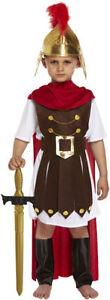 Children Roman General Emperitor Fancy Dress Toga Soldier Costume Book Week