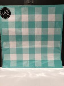 NIP Chalk Couture Buffalo Plaid transfer, background, brand new size D
