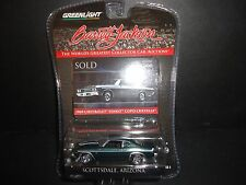 Greenlight Chevrolet Yenko Copo Chevelle 1969 Green 1/64 Barrett Jackson