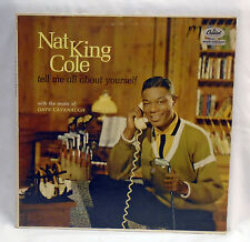 """NAT KING COLE Vinyl LP """"Tell Me All About Yourself"""" CAPITOL W1331"""