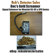 Doc's Gold Screamer Signal Enhancer for Minelab Gpx 5000, Gpx 4800, Gpx 4500