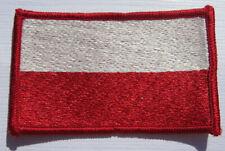 Polen Poland Flagge Aufnäher Patch 5 x 8 cm NEU (A54v)