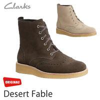 CLARKS originaux désert Fable marron RICHELIEU UK 7.5, 8.5, 9,9 .5,10,11,12,13