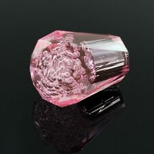 JDM Diamond VIP Crystal Bubble Manual Drift Shift Knob 60mm PINK Universal F