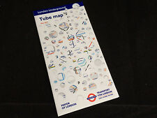 London Underground pocket tube map - May 2014. Rachel Whiteread.