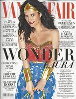 Vanity Fair Magazine Laura Pausini Sam Claflin Charlotte Rampling Bianca Balti